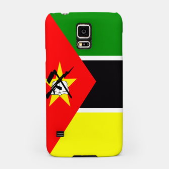 Thumbnail image of Flag of Mozambique  Samsung Case, Live Heroes