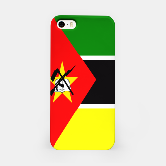 Thumbnail image of Flag of Mozambique  iPhone Case, Live Heroes