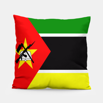 Miniature de image de Flag of Mozambique  Pillow, Live Heroes