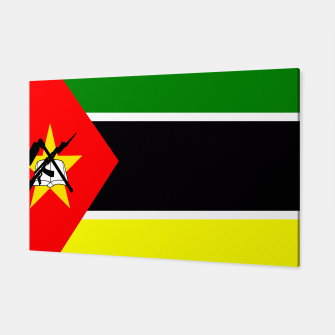 Thumbnail image of Flag of Mozambique  Canvas, Live Heroes