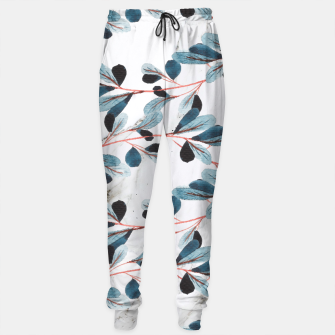 Miniatur Botanical Lines Cotton sweatpants, Live Heroes