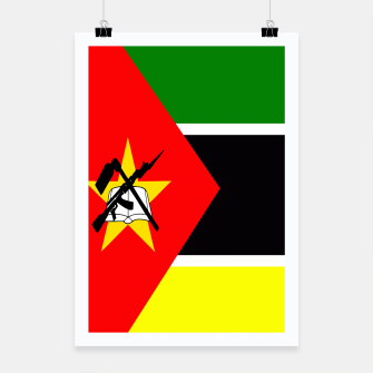 Thumbnail image of Flag of Mozambique  Poster, Live Heroes