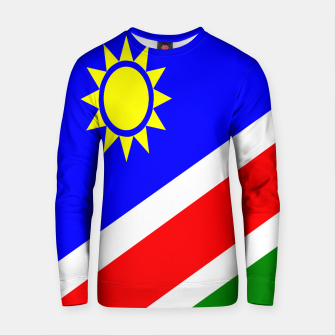 Thumbnail image of Flag of Namibia Cotton sweater, Live Heroes