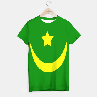 Thumbnail image of Flag of Mauritania T-shirt, Live Heroes