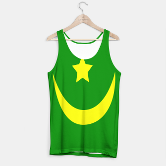 Thumbnail image of Flag of Mauritania Tank Top, Live Heroes