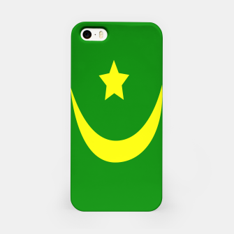 Thumbnail image of Flag of Mauritania iPhone Case, Live Heroes