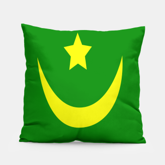 Miniature de image de Flag of Mauritania Pillow, Live Heroes