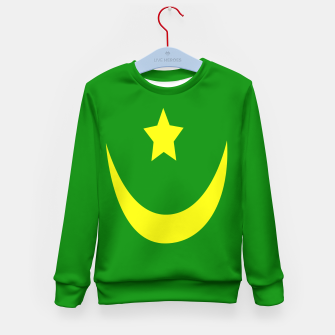 Miniature de image de Flag of Mauritania Kid's sweater, Live Heroes