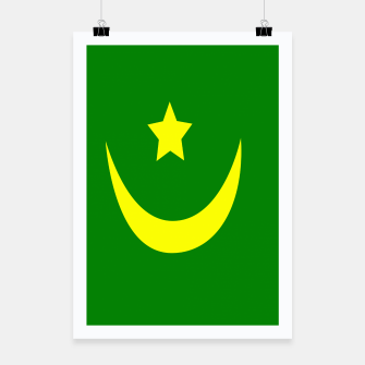 Thumbnail image of Flag of Mauritania Poster, Live Heroes