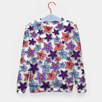 Thumbnail image of Floral Pattern Kid's sweater, Live Heroes