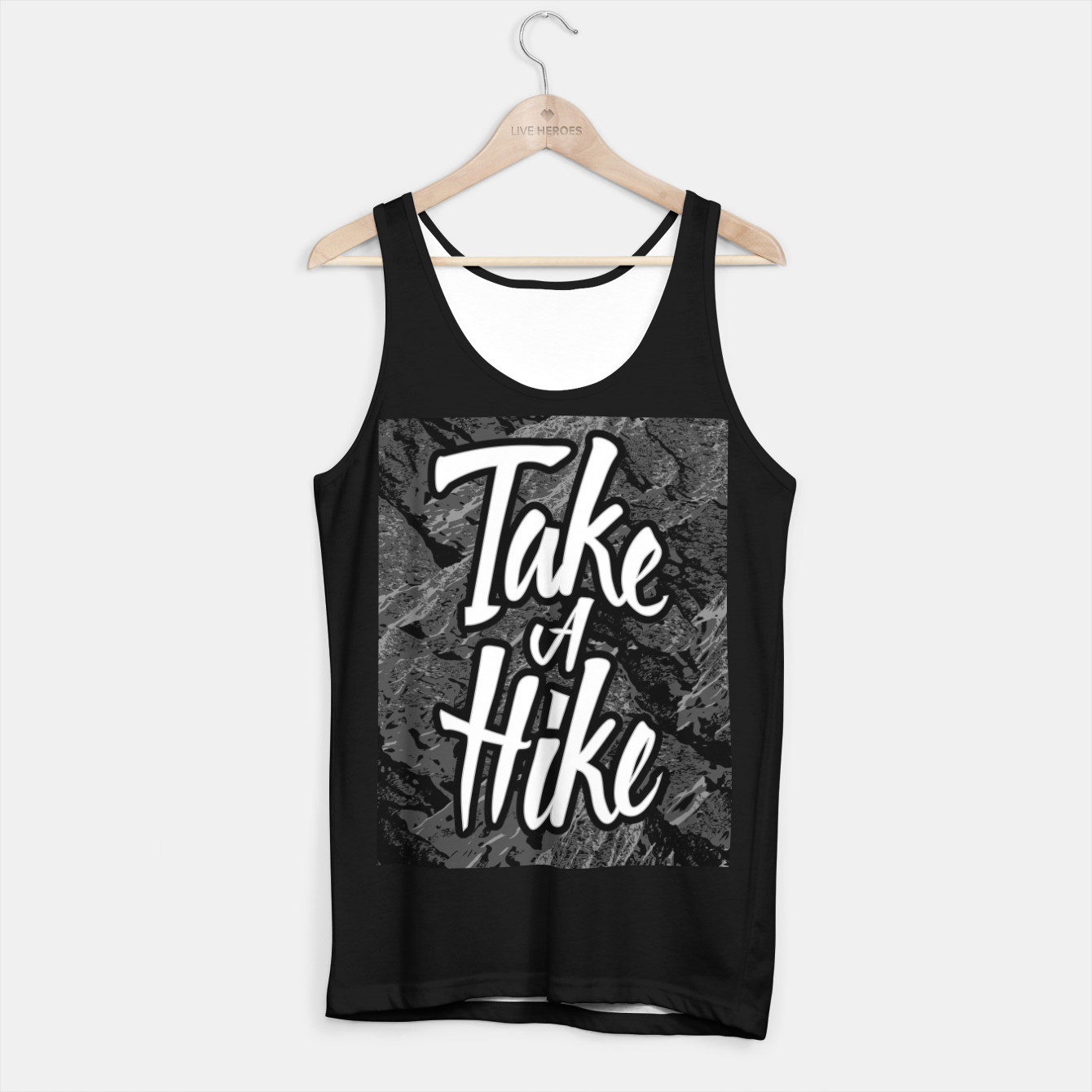 Image of Take A Hike Tank Top regular - Live Heroes