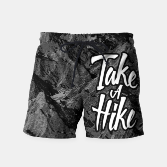 Thumbnail image of Take A Hike Swim Shorts, Live Heroes