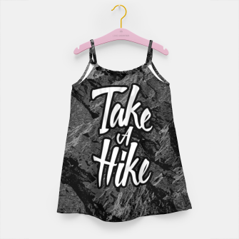 Take A Hike Girl's dress thumbnail image