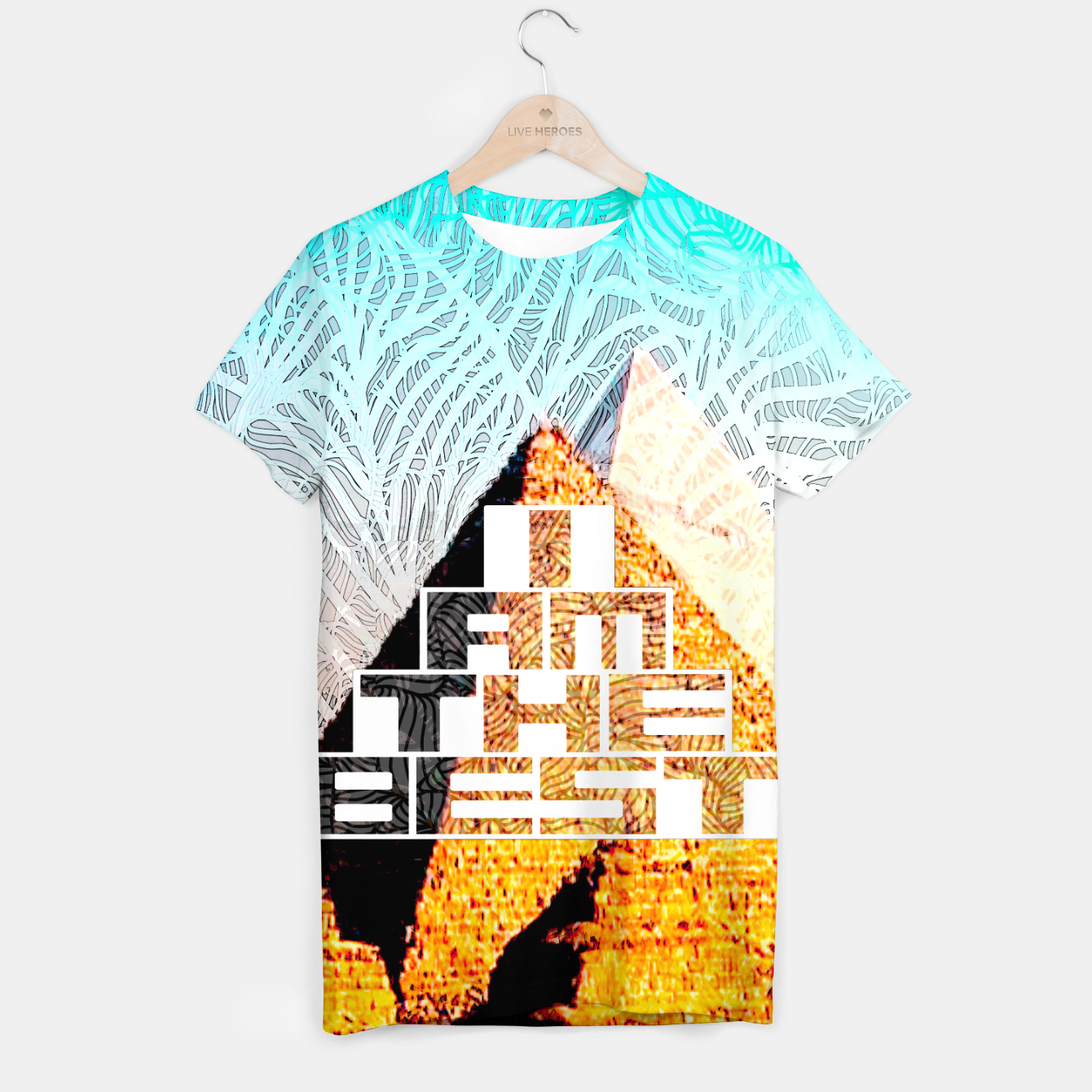 Image of best T-shirt - Live Heroes