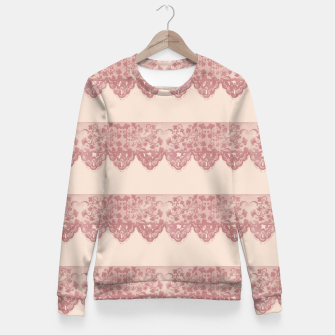 Thumbnail image of Sweet Lace Woman cotton sweater, Live Heroes