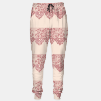 Thumbnail image of Sweet Lace Cotton sweatpants, Live Heroes
