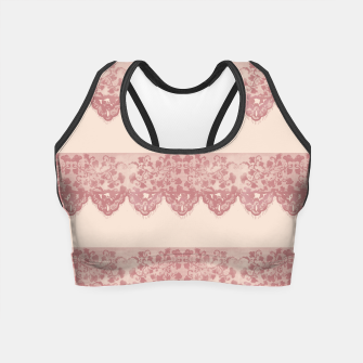 Thumbnail image of Sweet Lace Crop Top, Live Heroes