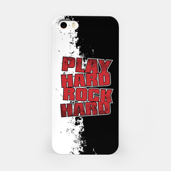 Thumbnail image of Play Hard Rock Hard iPhone Case, Live Heroes