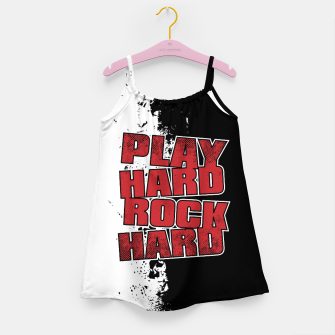 Thumbnail image of Play Hard Rock Hard Girl's dress, Live Heroes