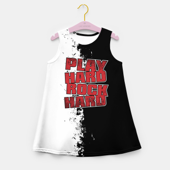 Thumbnail image of Play Hard Rock Hard Girl's summer dress, Live Heroes