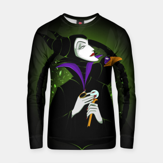 Thumbnail image of Maleficent Sudadera de algodón, Live Heroes