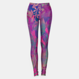 Thumbnail image of Flowers purple Legginsy, Live Heroes