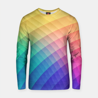 Miniatur Spectrum Bomb! Fruity Fresh (HDR Rainbow Colorful Experimental Pattern) Cotton sweater, Live Heroes