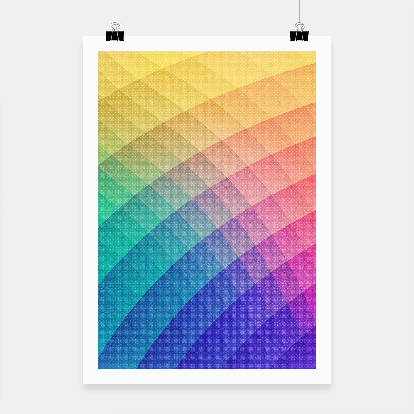 40ad87b5 Spectrum Bomb! Fruity Fresh (HDR Rainbow Colorful Experimental Pattern)  Poster, Live Heroes