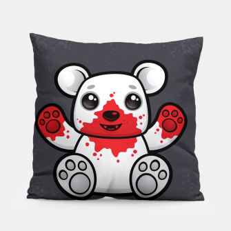 Miniature de image de Polar Bear Cub First Kill Pillow, Live Heroes