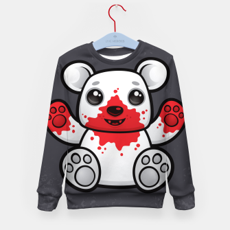 Miniature de image de Polar Bear Cub First Kill Kid's sweater, Live Heroes