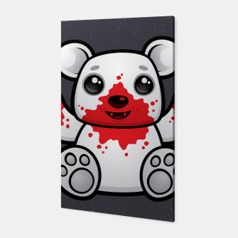 Thumbnail image of Polar Bear Cub First Kill Canvas, Live Heroes