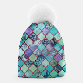 Thumbnail image of V33 BOHO Traditional Moroccan Design Beanie, Live Heroes