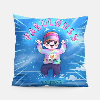 Thumbnail image of Fab/20 Coussin, Live Heroes