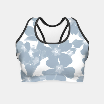 Thumbnail image of Primrose Blue Crop Top, Live Heroes