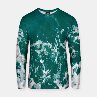 Thumbnail image of Emerald waters Cotton sweater, Live Heroes