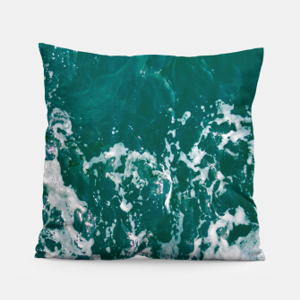 Miniature de image de Emerald waters Pillow, Live Heroes
