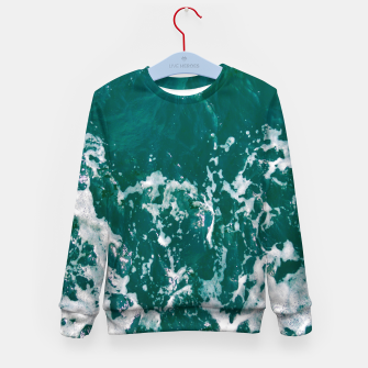 Miniature de image de Emerald waters Kid's sweater, Live Heroes