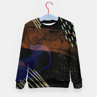 Miniature de image de Moody Black Kid's sweater, Live Heroes