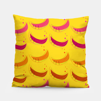 Miniature de image de Pillow with Bananas gold, Live Heroes