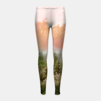 Thumbnail image of Forest Sound Girl's leggings, Live Heroes