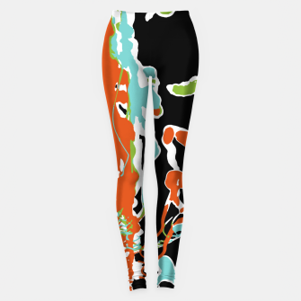 Thumbnail image of Multicolor Abstract Design Leggings, Live Heroes