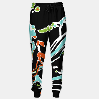 Thumbnail image of Multicolor Abstract Design Cotton sweatpants, Live Heroes