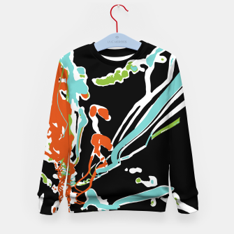 Miniature de image de Multicolor Abstract Design Kid's sweater, Live Heroes