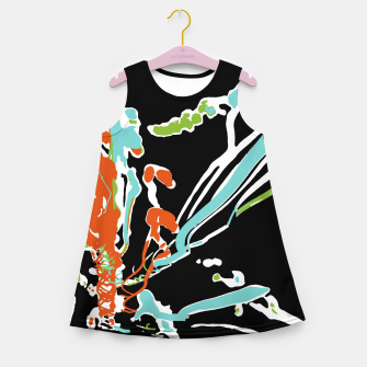 Thumbnail image of Multicolor Abstract Design Girl's summer dress, Live Heroes