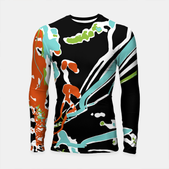 Miniature de image de Multicolor Abstract Design Longsleeve rashguard , Live Heroes