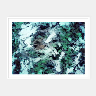 Thumbnail image of Iced water Framed poster, Live Heroes