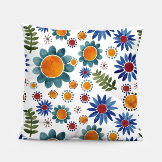 Thumbnail image of Floral garden Pillow, Live Heroes