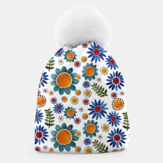 Thumbnail image of Floral garden Beanie, Live Heroes