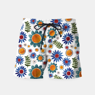 Thumbnail image of Floral garden Swim Shorts, Live Heroes