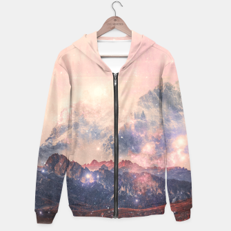 Thumbnail image of Fallenstar Cotton zip up hoodie, Live Heroes